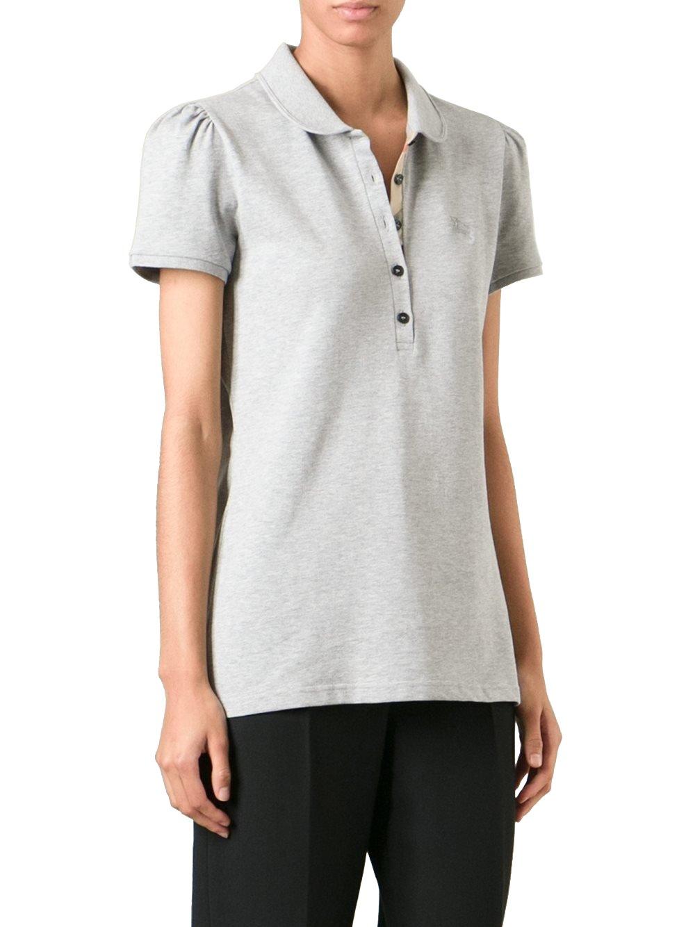 BURBERRY - Women's Polo YSM70254 - Grey (Pale Grey Melange), S