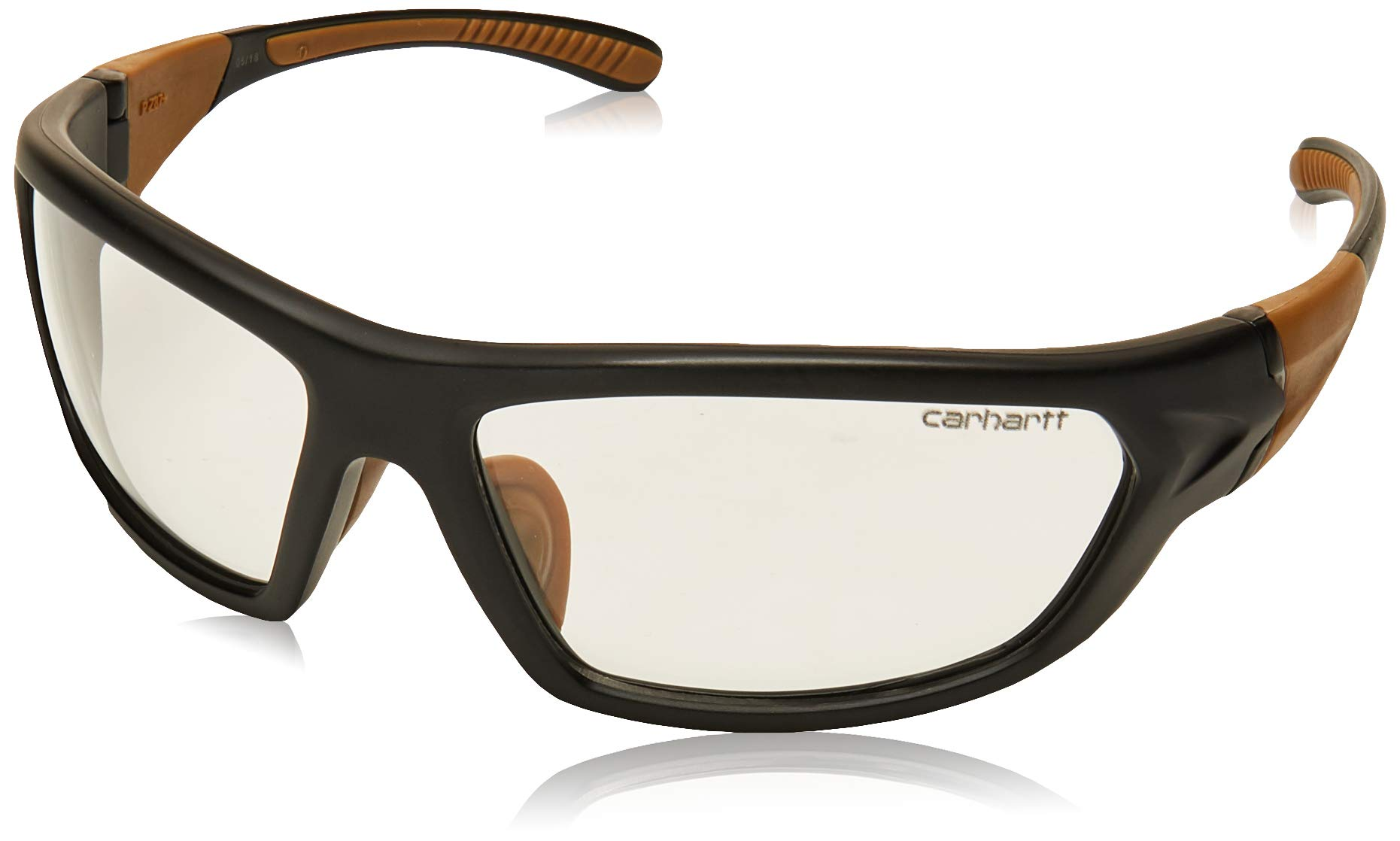 Carhartt Carbondale Safety Glasses with Clear Anti-fog Lens by Carhartt