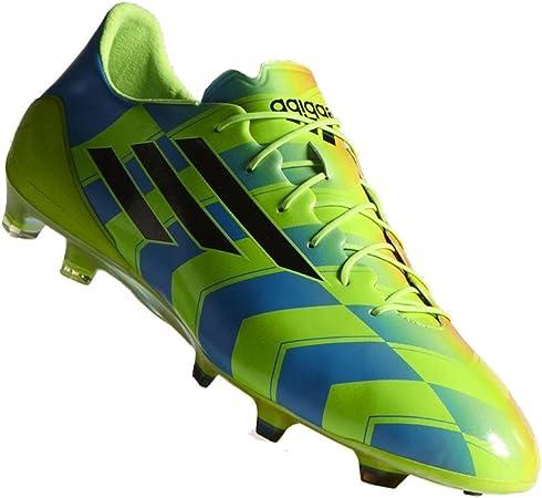 Treinta Impresión los padres de crianza  adidas zapatillas de fútbol sala F50 adizero Crazy Light TRX FG verde/azul,  color - verde/azul, tamaño 41 1/3: Amazon.es: Zapatos y complementos
