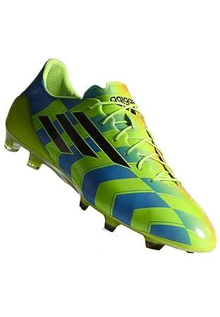 adidas Zapatillas de fútbol Sala F50 Adizero Crazy Light TRX FG Verde/Azul, Color - Verde/Azul, tamaño 41 1/3: Amazon.es: Zapatos y complementos