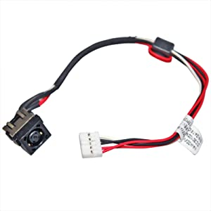Youyitai DC Power Jack Cable Replacement for Dell Inspiron 14 7447 i7447 15 3521 3537 P28F 15R 2521 3521 3531 5521 5537 M531R 17R 3721 3737 5721 5735 5737 1K31Y YF81X i15RM-5128sLV DC30100M90