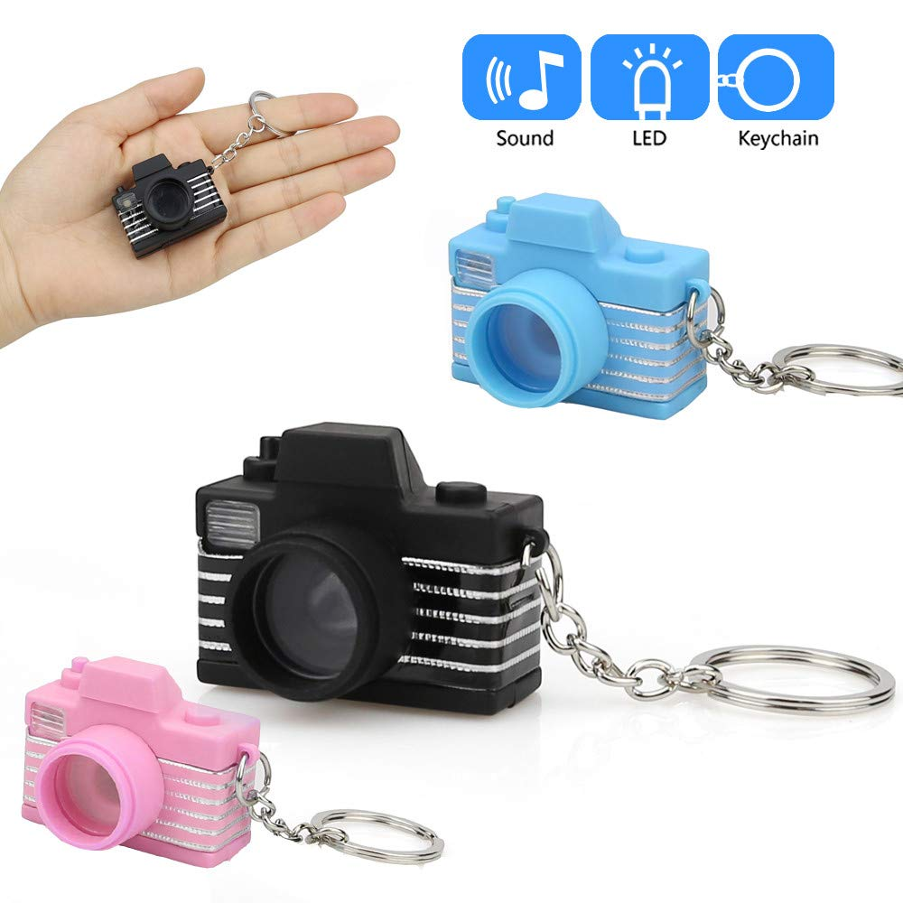Aobiny Llavero con diseño de Mini cámara de Dibujos Animados ...
