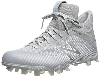 5acf14eb791 New Balance Men s Freeze V2 Agility Lacrosse Shoe White Grey-1