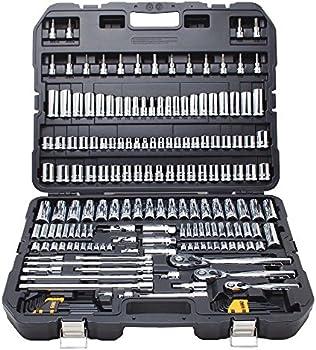 Dewalt 192 Piece Chrome Vanadium Mechanics Tools Set (DWMT75049)