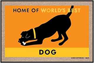 product image for High Cotton Home of the World's Best Dog Indoor / Outdoor Doormat