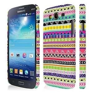 Empire Signature Series - Carcasa para Samsung Galaxy Mega 5.8 I9152 e I9150, diseño azteca