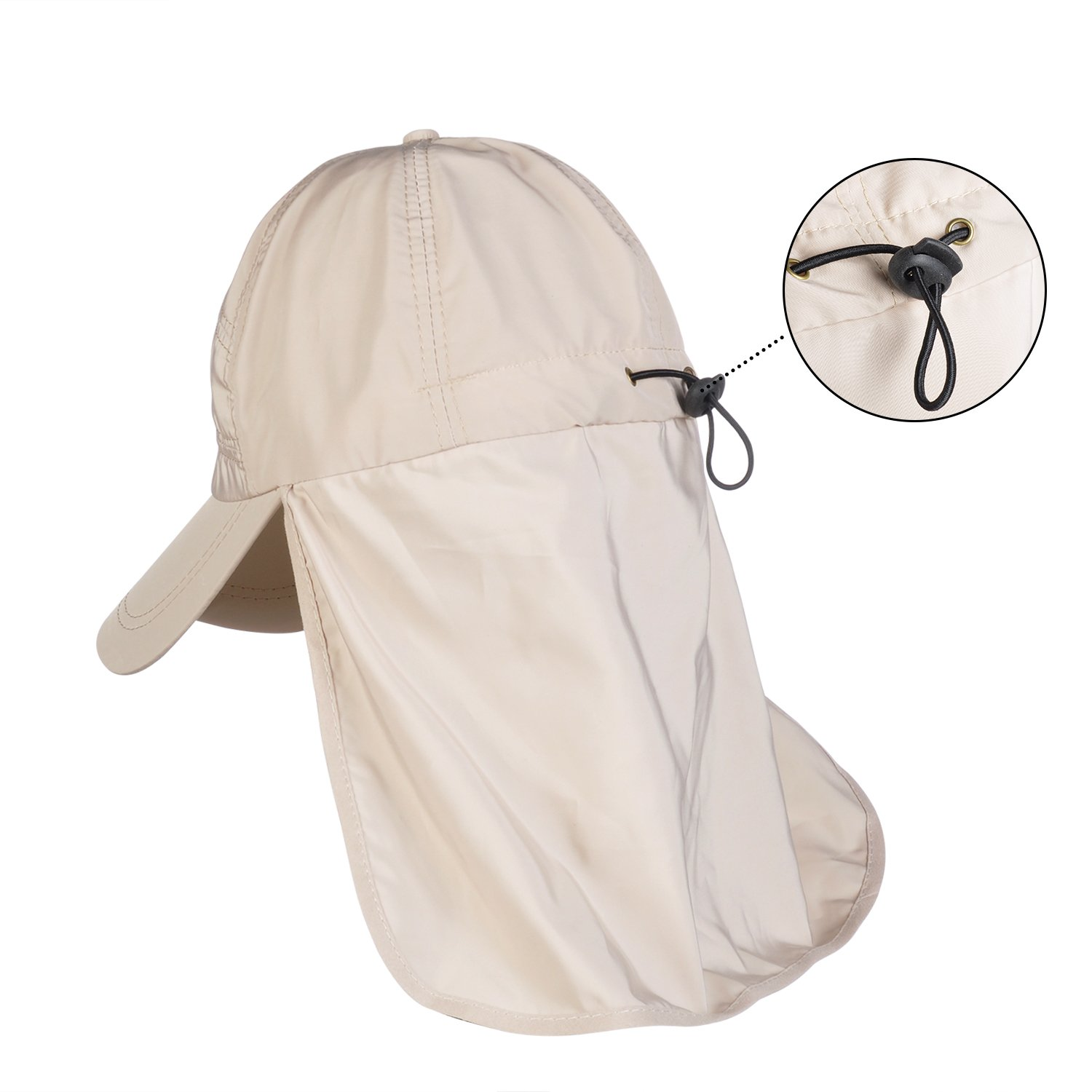Kids Sun Hat Protection Waterproof Sporty Flap Swim Hat UV Cap for Boy's Girl