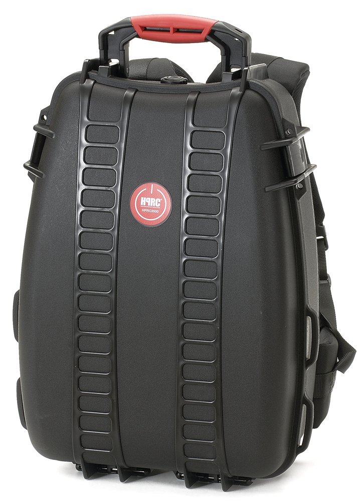 Black HPRC 3500F Backpack Hard Case with Foam