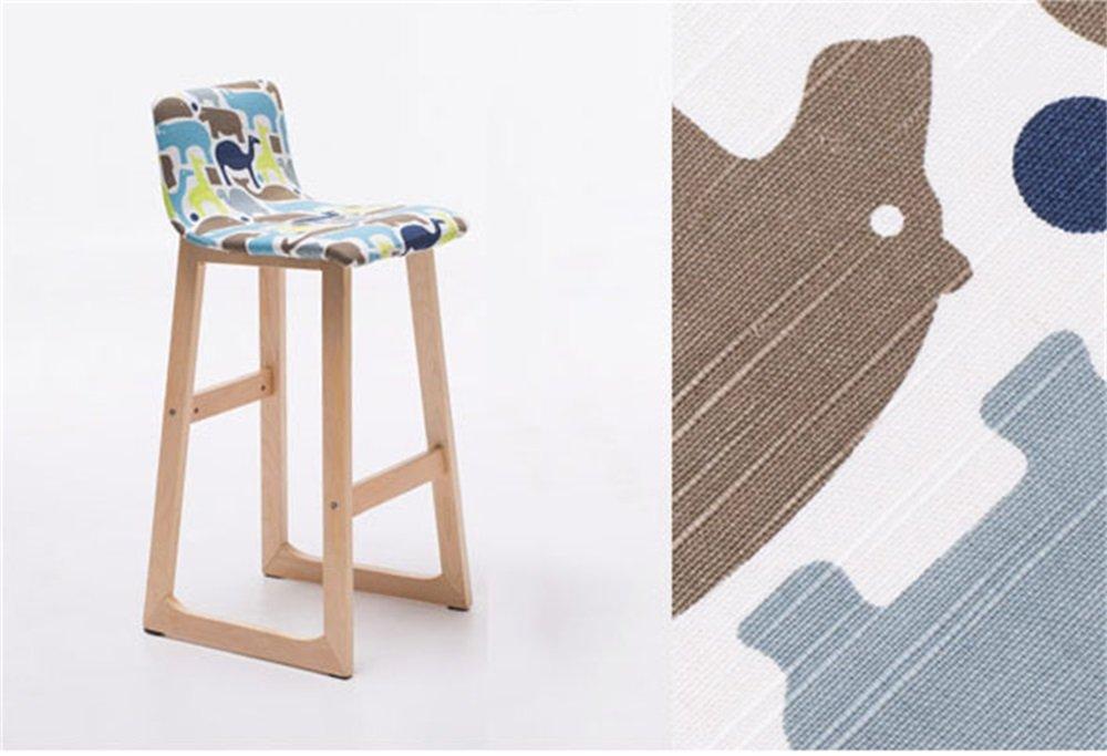 JdⓇ sgabello alto sgabelli da bar sedia da scrivania sedia in legno