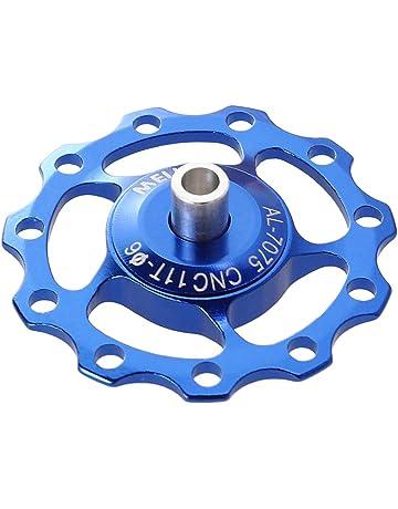 LIOOBO Rueda de desviación Trasera de la Bicicleta de aleación de Aluminio Rueda de desviador Trasero