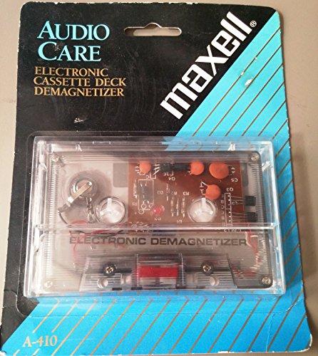 Maxell Electronic Cassette Deck Demagnetizer