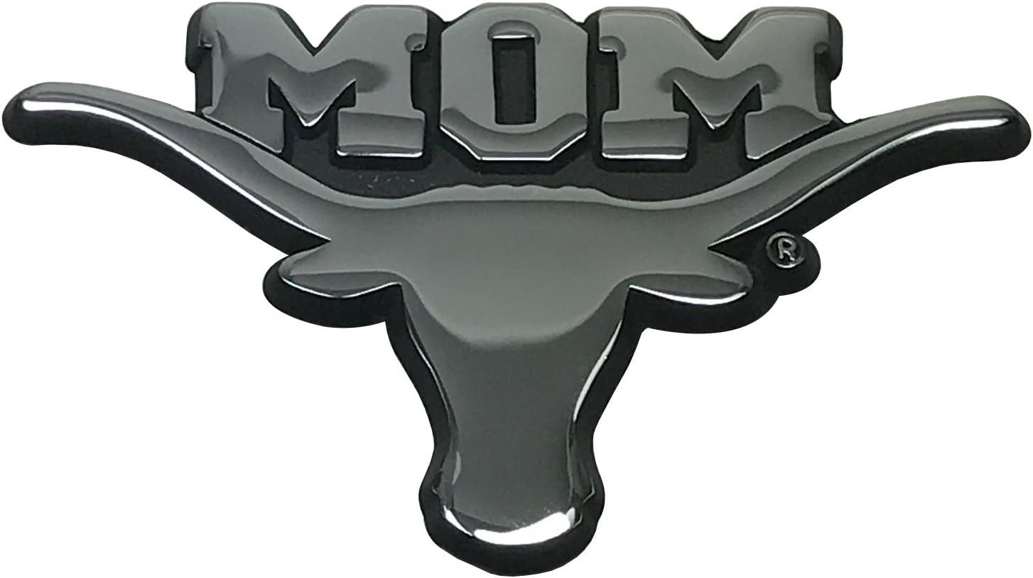 The University of Texas Longhorns Metal Auto Emblem Many Available! Orange