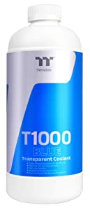 Thermaltake T1000 1000ml New Formula Blue Transparent Coolant Anti-Corrosion Anti-Freeze Minimize Precipitation CL-W245-OS00BU-A