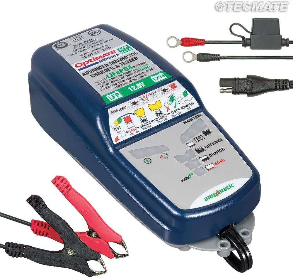 OPTIMATE 2 3 4 DUAL 5 6 LITHIUM OPTIMISER BATTERY CHARGER CHOOSE YOUR MODEL