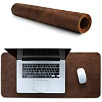 Londo Leather Extended Mouse Pad OTTO271 Brown, Genuine Leather