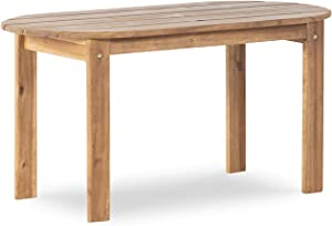 Linon Coffee Table, Teak