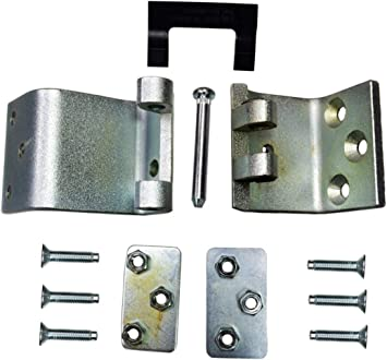 Front Lower//Upper Set Door Hinge fits Left or Right PT Auto Warehouse DH-FO6903LU-F