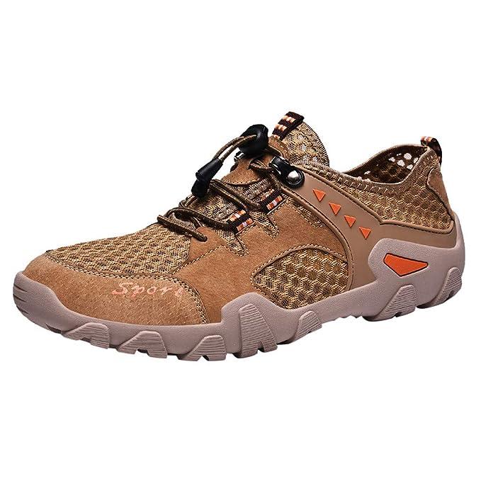 MXJEEIO 💖 Zapatillas Minimalistas de Barefoot Trail Running ...