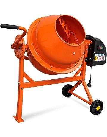 Tidyard Hormigonera Eléctrica de Acero de Energéticamente Eficiente 63 litros 220 W, S6 30%