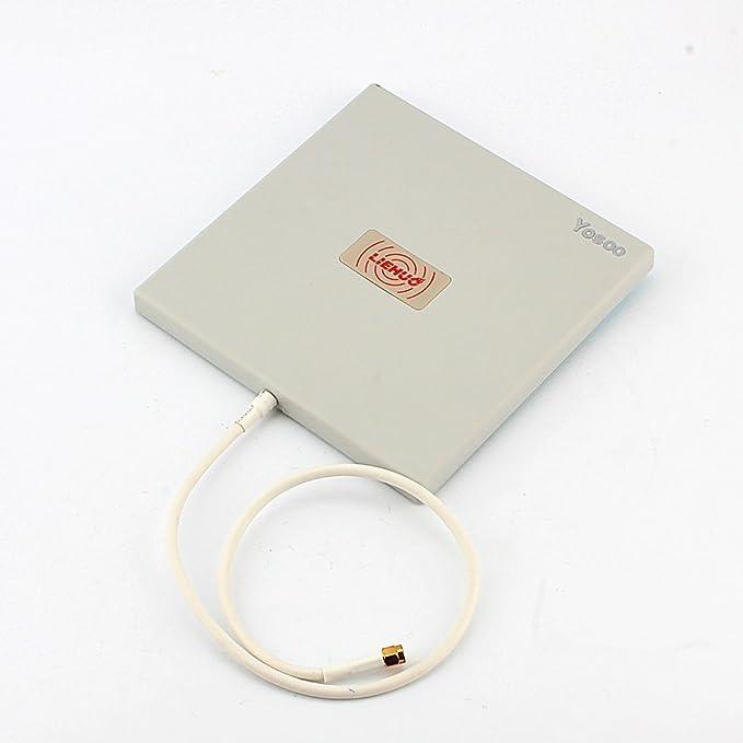 4 opinioni per Yosoo® Antenna Direzionale a Pannello da Esterno, 2.4 Ghz, 14 dBi, Elevato
