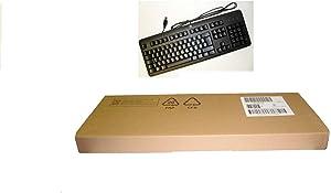 HP black keyboard KU-1156 PN 672647-003 (Renewed)