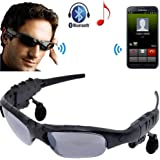 RFV1™Outdoor Glasses Bluetooth Sunglasses Headphones Stereo Wireless Sport Riding Song Call Ear Buds Earphone-Only Two Glasses