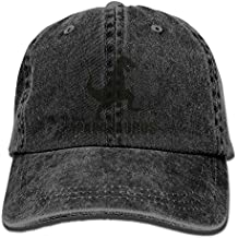 Nanana Humor Graphic Washed Retro Adjustable Jeans Caps Hip Hop Caps For Women and Men