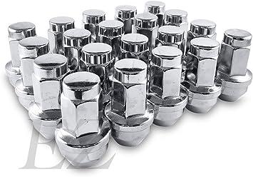24 Pcs OEM Ford Acorn Lug Nuts 14x2.0 For F150 ezaccessory
