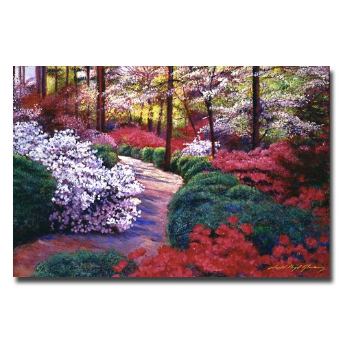 April Beauties by David Lloyd Glover, 22x32-Inch Canvas Wall Art (David Lloyd Glover Garden)