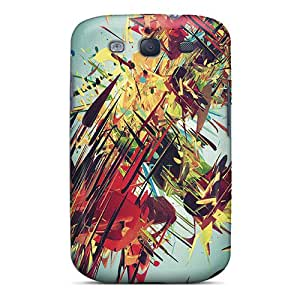 New Premium KellyMeeks Abstract Paint Skin Case Cover Excellent Fitted For Galaxy S3