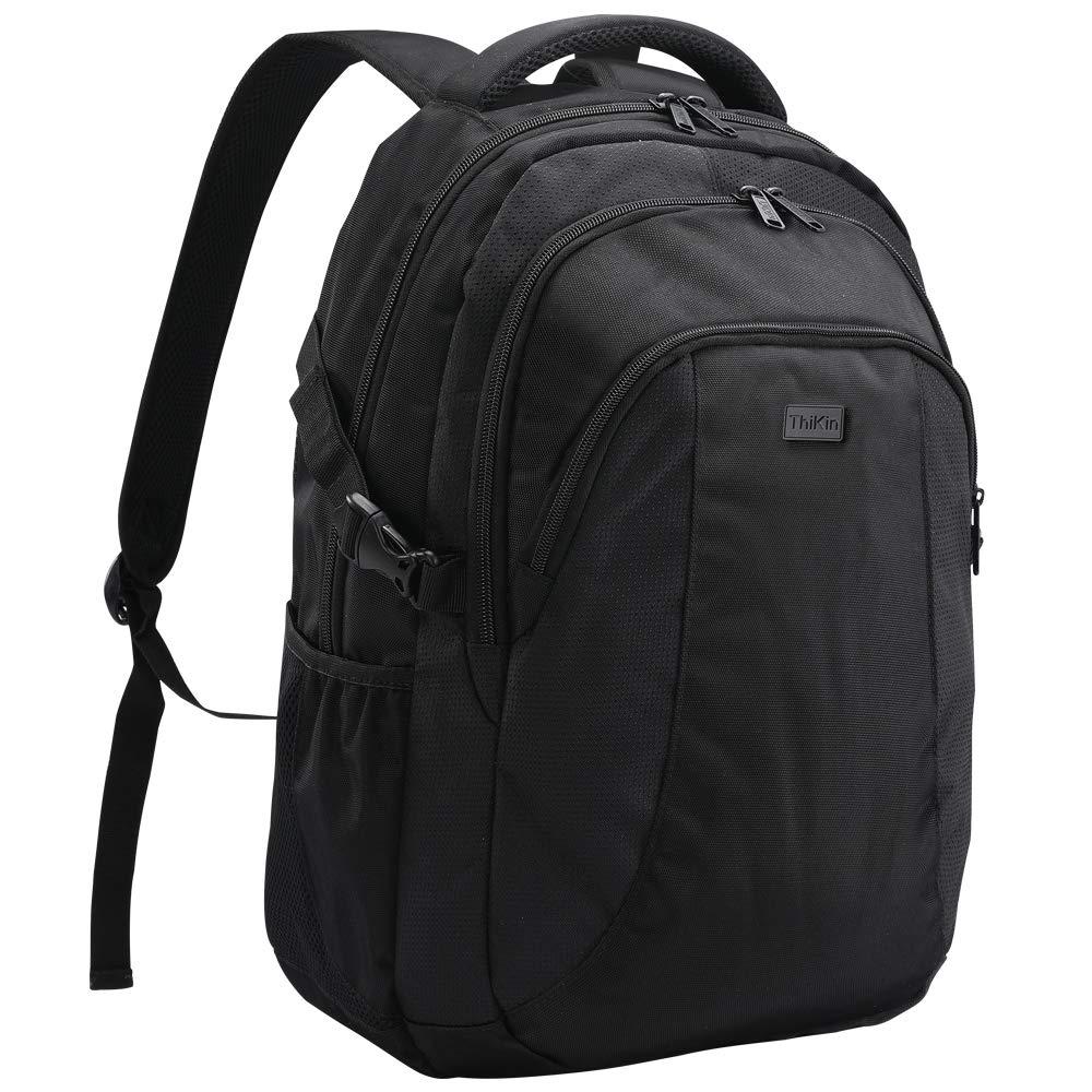 [クージョイ] リュック リュックサック バックパック ビジネス 通勤 黒 大容量 14インチPCバッグ  ブラック B07PF9R656