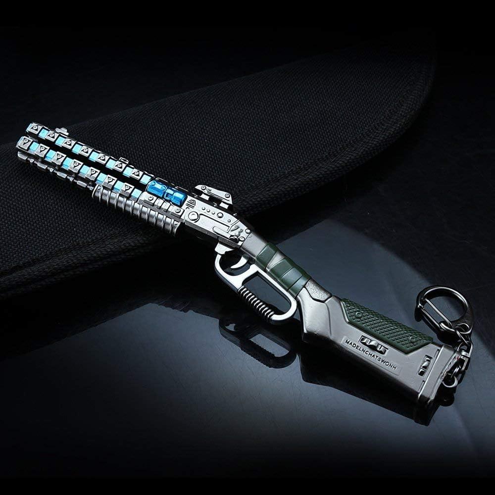 Alternator Submachine MANHUAN Apex Legends Games Modello Peacekeeper Shotgun Giocattolo in Metallo 1//6 Pugnale Pistola ausiliaria Convertitore VK47 Portachiavi Regalo da Collezione