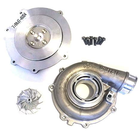eightysixd Ford 6.0L 72 mm Turbo Upgrade – Etapa 3 – CNC rueda