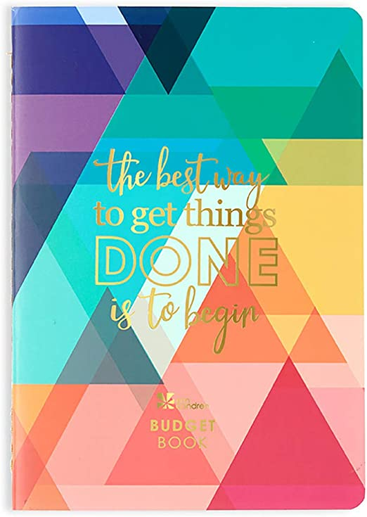 Erin Condren Designer Petite Planner - Financial Planner/Budget Planner Organizer Book Edition 2 with Debt Tracking, Functional Stickers & Quote Sheet