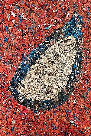 Marvel Comics Póster de Spider-Man Eye Montage de papel, multicolor, 61 x 91,5 cm