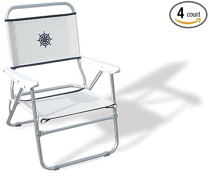 Amazon.com: Forma Marino silla de playa, Silla al Aire ...