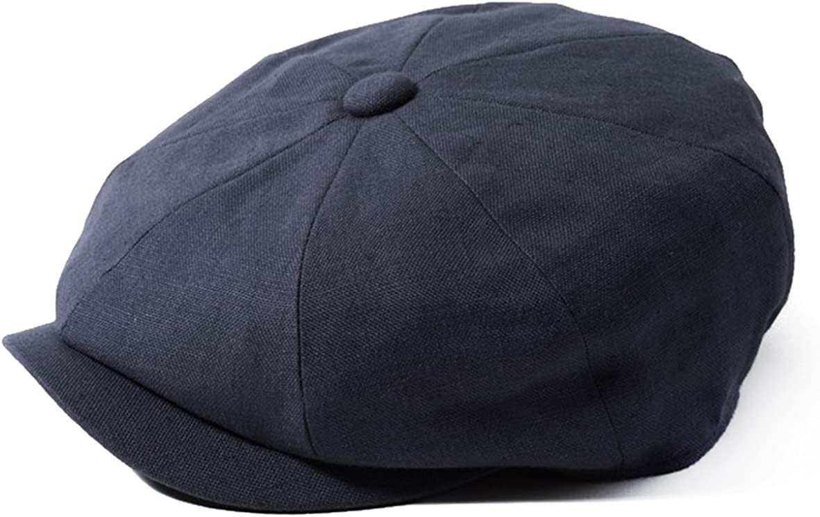 Failsworth 100/% Irish Linen Alfie Bakerboy Cap