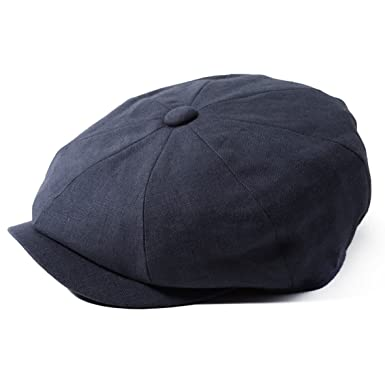 e219e041fbf Image Unavailable. Image not available for. Colour  Failsworth Hats Alfie  Irish Linen Bakerboy Cap ...