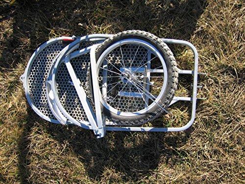 ebikeCo Remolque de Bicicleta de una rueda BICICLETAS Y PIRULETAS 3