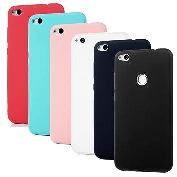 6X Funda Huawei P8 Lite 2017, YOKIRIN Ultra Delgado Suave TPU Carcasa para Huawei P8 Lite 2017 (5.2 Pulgadas) Flexible Silicona Parachoques Gel ...