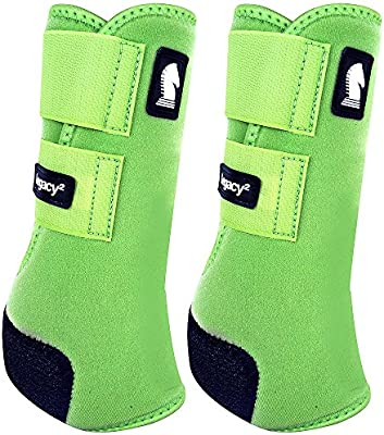 Classic Rope Company Legacy2 Front Protective Boots 2 Pack Lime M