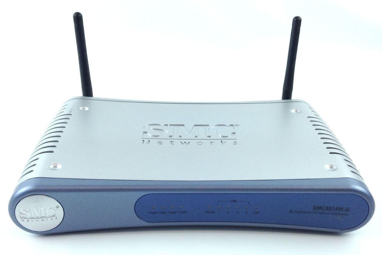 SMC Networks Smc8014wg Wireless Cable Modem- Suddenlink Wifi -Ip Gateway
