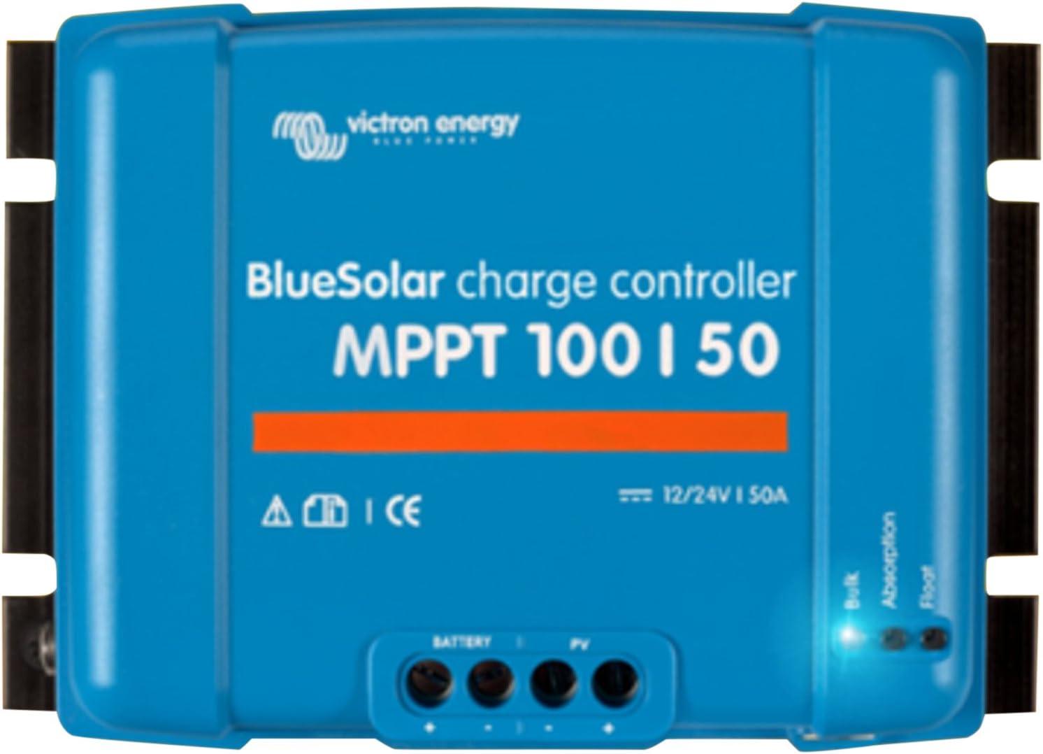 Victron Energy BlueSolar regulador solar MPPT 100/50,12–24V, 50A