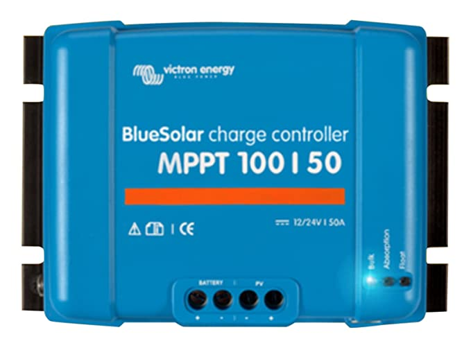 Amazon.com: Victron BlueSolar 75/15 MPPT Charge Controller - 15 Amps ...