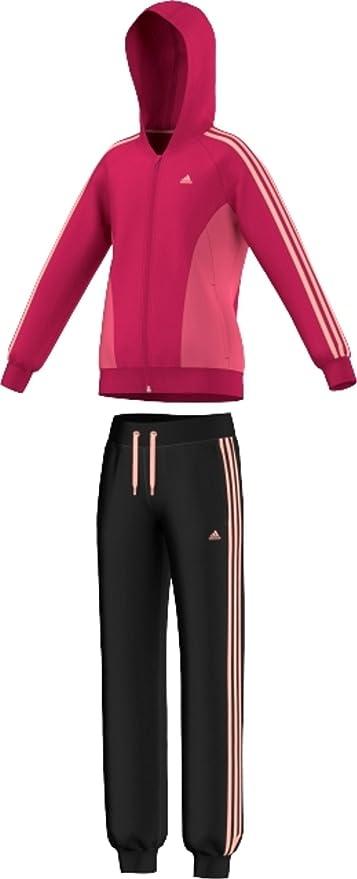 adidas Chica Chándal YG Seperate PES Hood Knit C Talla 116 ...