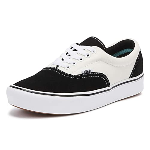 Vans UA ComfyCush Era Black/Marshmallow Suede Adult Trainers ...