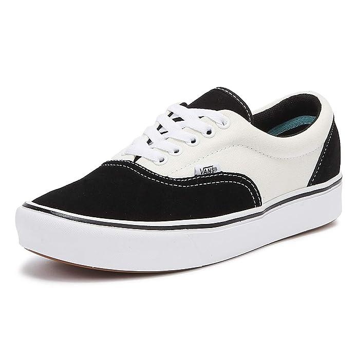 Vans Herren Sneaker ComfyCush Era Black / Marshmallow Größe EU 39