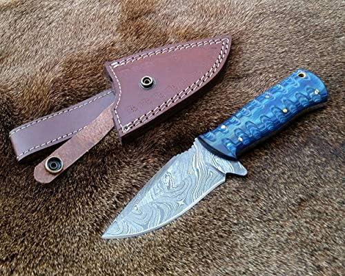 Amazon.com: AG Knives - Cuchilla de esquí hecha a mano ...