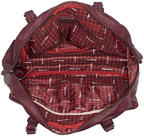 Rojo Maletín Bolsos Mujer vino Bernadette Tamaris qwpIRq