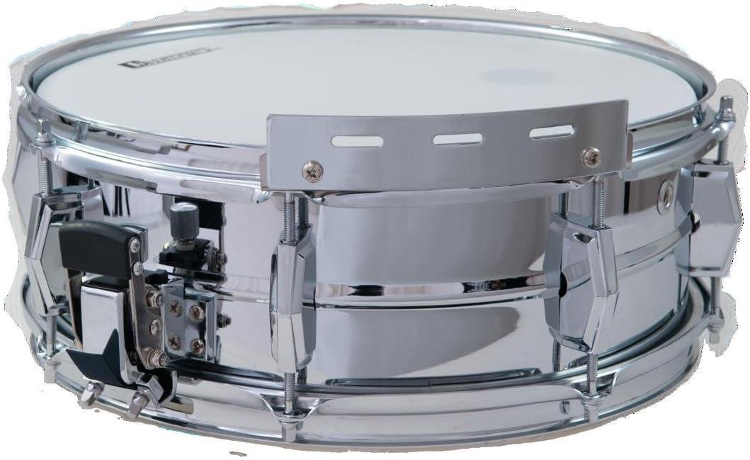 showking Caja de Marcha Tick Walk, 13x5, Cromo - Tambor de Marcha/ Instrumento de percusión - klangbeisser: Amazon.es: Hogar